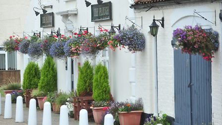 Blundeston won a category in the Anglia In Bloom competition in 2013.
