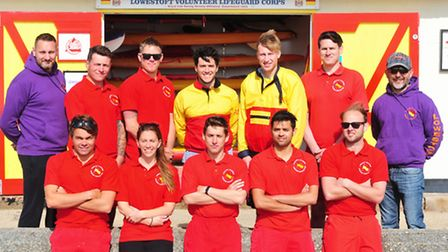 Lowestoft Volunteer Lifeguard Corps work on Sundays between May and September and for events like th
