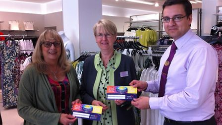 Lowestoft Vision May's customer hero - Jane Collier from Marks and Spencer