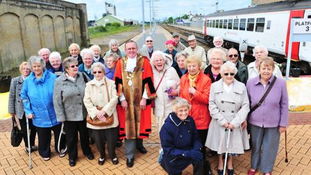 WWII Lowestoft evacuees mark the 75th anniversary of when they were evacuated from the Town.Town May