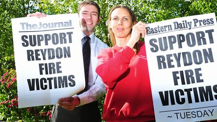 Lowestoft Journal community editor Andrew Papworth and Nicky Morgan are launching a campaign to rais
