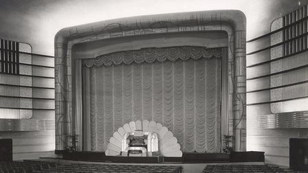 The Embassy Cinema auditorium. Photo: RIBA Collections