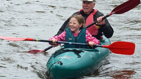 Lowestoft Canoe Club Open Day. Pictures; MICK HOWES