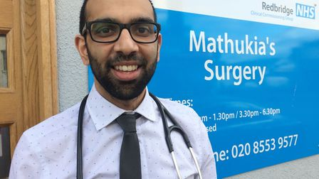 Dr Mathukia. Photo: NHS