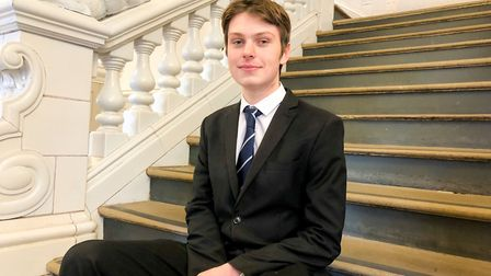 Joseph Lucas has won a scholarship to the Royal Academy of Music Picture: Tom Barnes