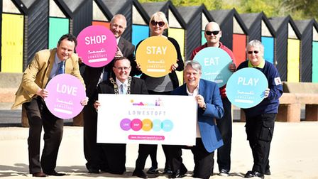 Launch of Discover Lowestoft, an online campaign to promote business in Lowestoft.Picture: James Bas