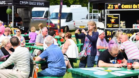 Flavours of Summer food and drink festival at Henham Park Estate.