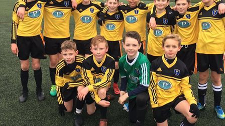 Shenfield High's under-12 boys are into the National Cup quarter-finals