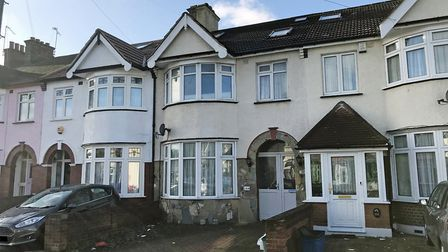 The property in South Park Road, Ilford is in need of improvements. Picture: Clive Emson Auctioneers
