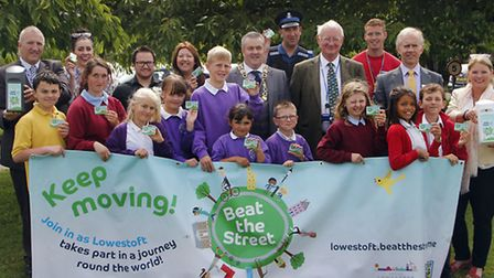 The launch of Beat the Street at Northfields St Nicholas