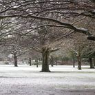 Frosty Parsloes Park, Dagenham, Picture: Sara Wright