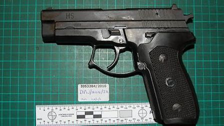 Image of recovered firearm. Photo: Met Police