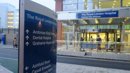 Royal London Hospital is in Whitechapel. Picture: Mike Brooke