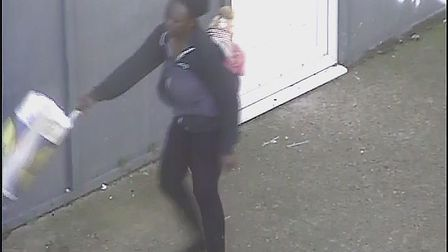 Newham Council are appealing for information to find this suspected fly-tipper. Pictire Credit: Newh