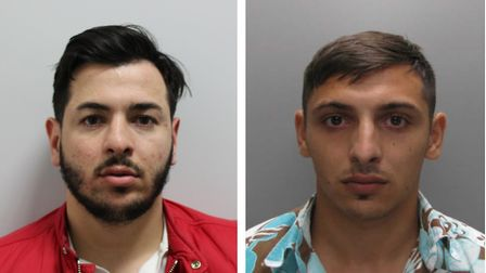 Police want to trace Araman- Nardi Stoica, left, and Razvan Stoica. Pictures: Met Police