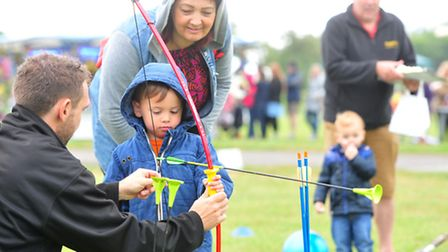 The Hollies Family Fun Day in Kessingland.