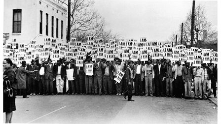 Memphis sanitation workers strike, 1968 Picture: Ernest C. Withers