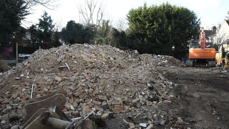 The second Hare Lodge, in Gidea Park, was demolished in February 2018.