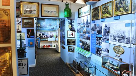 Feature at Lowestoft Maritime Museum with Roy Hammond and Paul Kirby.