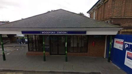 A teenager was taken to hospital after he was stabbed outside of Woodford station last night. Photo: