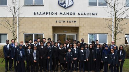 The Brampton Manor Academy has been awarded an outstanding Ofsted
