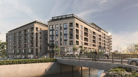 CGI of Legacy Wharf. Picture: Bellway Homes