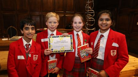 The children loved taking part in the competition and were given a certificate. Picture: Forest Scho