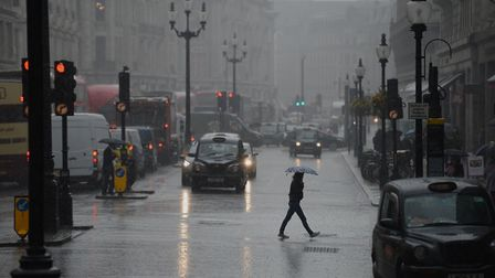 Londoners will face miserable weather this weekend (Picture: PA Images)