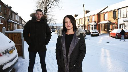 Parents Loul Payne and Anne Hanna have set up a Facebook group called SCARS for parents in Rainham t