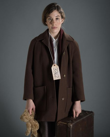 Leila Shaus as Eva who will be performing in Kindertransport at the Queens Theatre. Photo: Mark Sepp