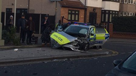 The incident happened at around 7.30am. Photo: Nicky Cook.