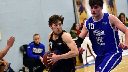 Essex Leopards Will Ashby in action against Ipswich (Pic: Paul Phillips)