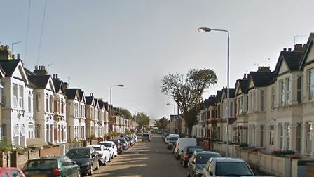 Police were called to Burges Road, near East Ham tube station, after reports of a corrosive substanc