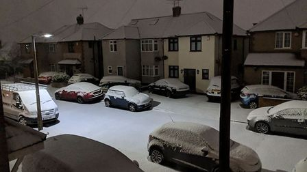 Snowy scenes from around Havering submitted by Recorder readers. Photo: Claire Slaughter