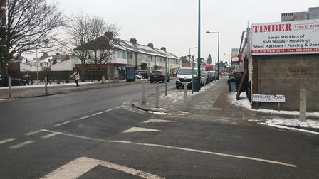 Police are investigating a stabbing which occured on Ilford Lane by the junction of Wingate Road