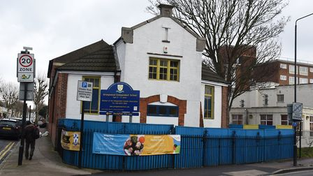 Grangewood Independent School in Forest Gate which is due for closure