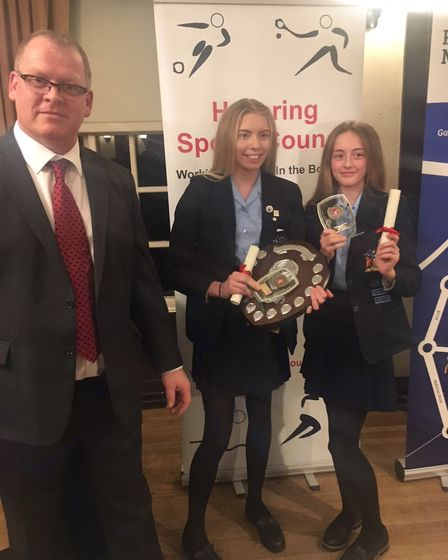 Coopers Coborn's under-19 gymnastics team won Havering Sports Council's senior school team of the ye