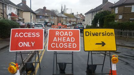 Avoid the roadworks in the borough. Picture: Ken Mears