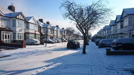 Snowy scenes from across Redbridge submitted by Recorder readers. Photo: Ellena Cruse