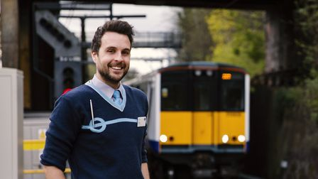 Drew Tyne, a train driver for MTR Crossrail wants to raise awareness about what it's like living wit