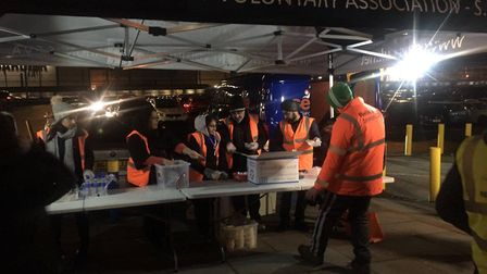 The Sikh Empowerment Voluntary Association helped Jas' Punjabi Kitchen provide food for the homeless
