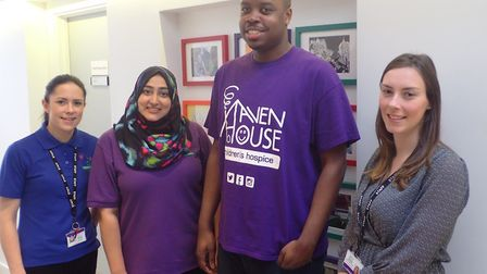 Staff at Haven House. Photo: Haven House