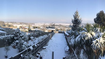 Snowy scenes from around Havering submitted by Recorder readers. Photo: @SN_Vaping