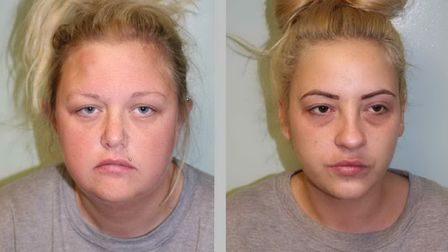(L-R) Claire Kinsey, 33, and Gemma Gadsby, 31. Photo: Met Police