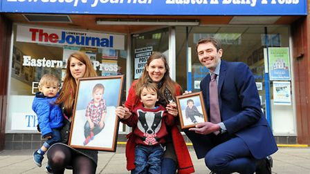 Last year's winners were Brodie Thacker with his mother Leanne Squires and Haydn Boggis with his mot