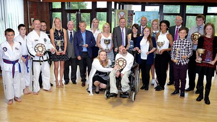 Active Waveney Sports Awards 2015. All winners. Pictures: MICK HOWES
