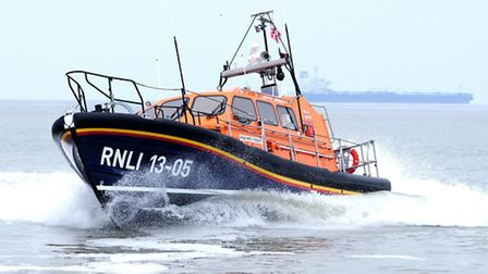 Lowestoft Lifeboat, Patsy Knight. Picture: ERIC JOHNSTONE