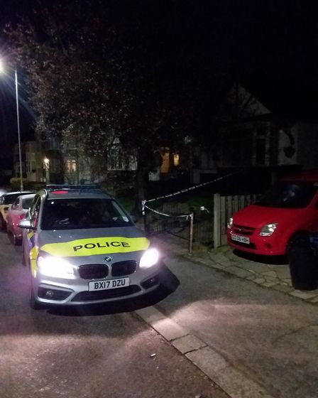 The victim received help from members of the public on Horns Road. Photo: Archant