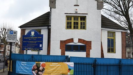 Grangewood Independent School in Forest Gate. Picture: Ken Mears