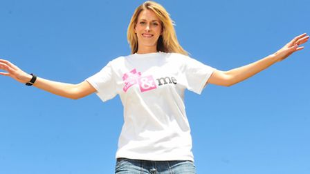 Amy Harvey is doing a skydive to raise money for the Lowestoft woman injured in last year's acid att